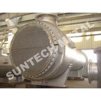 S31803 Duplex Stainless Steel Floating Head Heat Exchanger ISO / SGS Manufactures