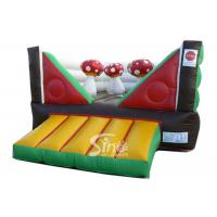 Commercial Indoor Kids Mushroom Bouncy Castle Made With 0.55mm Pvc Tarpaulin Manufactures