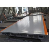 ZMIC Load Cell Portable Weighbridge 3 X 18 Meter Size With 6 U Type Beam Manufactures