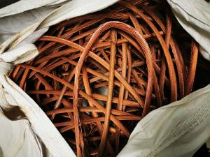 High Purity 99.9% Copper Cable Wire Scrap Diameter 6mm Manufactures