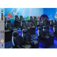 Fiber Leather 5D Motion Theater Chair 3 People Per Set Chair Manufactures