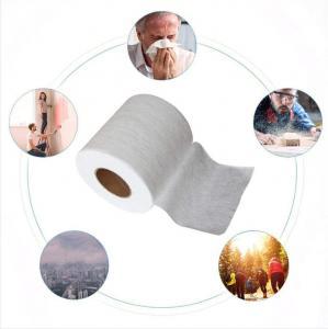 Civil grade 25 grams BFE95 meltblown cloth disposable mask filter material meltblown nonwoven wholesale wholesale a smal Manufactures