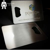 Metal Beer Bottle Opener Business Card ,  Poker Card Bottle Opener  Promotional Manufactures