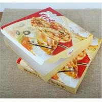 corrugated carton paper packaging pizza box,cheap wholesale custom logo printed pizza box,Environmental customized 16 in Manufactures
