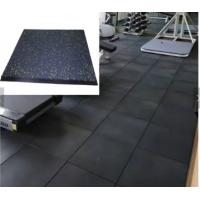Buy cheap Gym Club Using Indoor Rubber Gym Flooring, Rubber Workout Flooring from wholesalers
