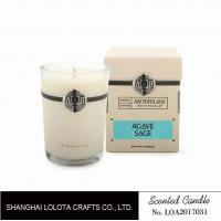 Southern Belle / Raspberry Fragrance Natural Scented Candle Chemical Free , Eliminating Odors