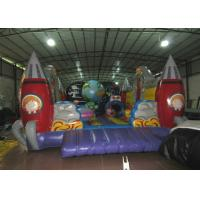 Custom Alien Spaceship Blow Up Bounce House , Little Tikes Inflatable Bounce House Manufactures
