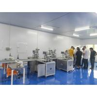 Fast 3 Layer Face Mask Machine / Automated Surgical Face Mask Machine Manufactures