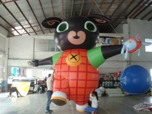 Custom Shaped 10m Diameter Air Filled Balloons 0.2mm PVC Material With Blower Manufactures