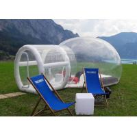 Outdoor Single Tunnel Inflatable Bubble Tent Camping Family Stargazing For Rent Manufactures