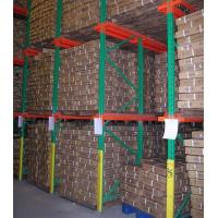 Buy cheap Blue Flour Drive Through Pallet Racking 800 - 2000kg / Layer Powder Coated from wholesalers