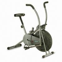 Exercise Bike with Adjustable Tension Strap and Control Lever Manufactures