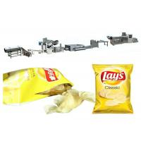 Buy cheap 30kg/h wave type potato chips production line from wholesalers