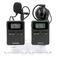 Portable Audio Guide Wireless Horse Instruction System Black Color Manufactures