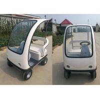 Easy Operation Electric Sightseeing Car Optional Colors With Steering Wheel Manufactures