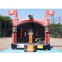Quality Commercial indoor kids pirate bounce house with pillars inside made in China factory FOR SALE for sale