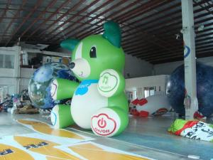 Decoration Advertising 3.5m High Custom Shaped Balloons 0.18mm PVC Material Manufactures