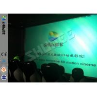 Genuine Leather Convenient 6D Movie Theater With 3DOF Motion Chairs Manufactures