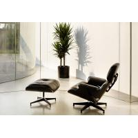 China White / Black Swivel Recliner Chairs Oil Painting Commercial Furniture on sale
