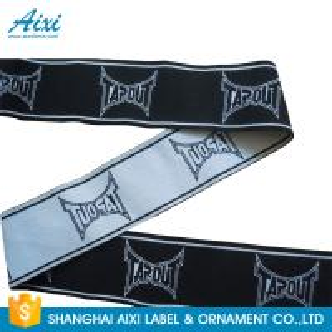 fashion customized printed jacquard elastic waist band for underwear printed elastic ribbon Manufactures