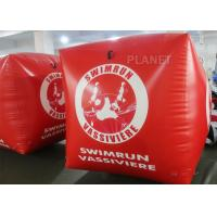 Sealed Air 1.5M Inflatable Marker Buoy For Advertising Red Color Manufactures