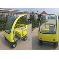 2 Seats Sightseeing Electric City Car , 1350*1155*1680 Mm Electric Sightseeing Bus Manufactures