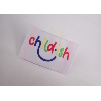 Garment Clothes Woven Label Clothing Tag Low Minimum Customized Size Manufactures