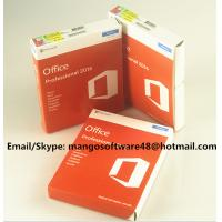 32 / 64 Bit Office 2016 Pro Plus Retail For Global Area Full Functions Manufactures