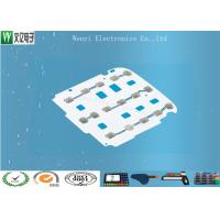 Membrane Switch Tactile Metal Domes Assembly SUS301 5 Dimple For Remote Controller Manufactures