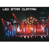 Buy cheap Multi - Colors Led Christmas Curtain Lights Backdrop Decoration Sky Effect from wholesalers