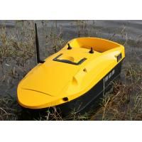Buy cheap Yellow rc fishing bait boat DEVC-113 remote range 350m fishing tackles from wholesalers