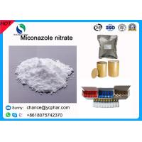 Buy cheap Antifungal Pharmaceutical Raw Powder Miconazole nitrate CAS 22832-87-7 from wholesalers