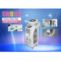 3 In 1 Nd Yag Laser Hair Removal Machine , Yag Tattoo Removal Machines Long Lifespan Manufactures
