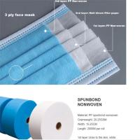 Breathable Polyester Spunbond Fabric Non-Woven Fabric Roll Polypropylene 100% Pp Manufactures