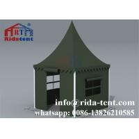 Buy cheap Easy Up Green Pagoda Party Tent Hard Pressed Extruded Aluminum 6061/T6 from wholesalers