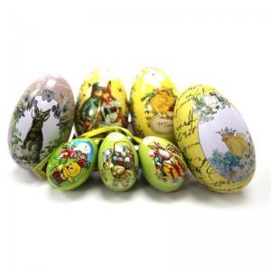 Wholesale Unique Easter Egg Tin Box Manufactures