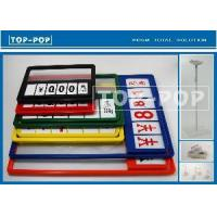 Plastic Frame/Price Holder (POP-PF6) Manufactures