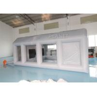 Grey Moveable Inflatable Car Paint Spray Booth With Filter System 6x4x2.5m Manufactures