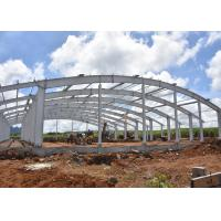 Heavy Duty Designed Anti Cyclone arch roof Steel Structure Workshop and warehouse Manufactures