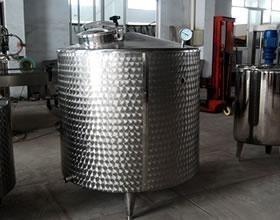 SUS304 Fruit Juice Production Line Temperature Insulation Storage Tank Manufactures