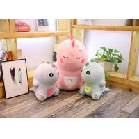 Cute Pink Dinosaur Soft Toy Doll Handcuffs Two In One Plush Toy CE Approved Manufactures