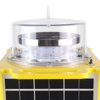 Latest technology long service life high intensity type B Solar aviation warning Lights For Towers Chimney Building Manufactures