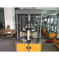 Firm Structure Paper Box Manufacturing Machine Highly Sensitive For Food Box Manufactures
