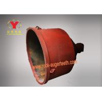 High Efficiency Concrete Hopper , Steel Material Forged Cement Spare Parts Manufactures