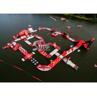 Custom Deisgn Giant Floating Island Inflatable Water Park for Inflatable Aqua Park Fun Manufactures