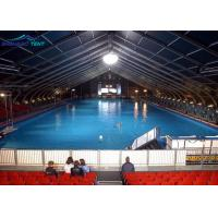 Buy cheap Canopy Storage Curved Tent Large Hangar Tent For Different Swimming Pool Stadium from wholesalers
