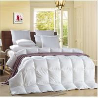 Buy cheap Alternative Satin Piping White 0.9D Light Blue Quilt Hotel Household Comforter from wholesalers