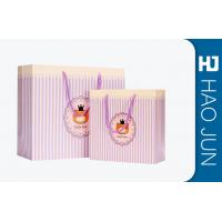 Durable Cardboard Gift Bags / High End Paper Grocery Bags With Handles Manufactures