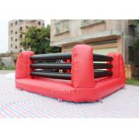 Kids And Adults Inflatable Sports Games Boxing Ring 5 X 5 X 1.5 M Height Manufactures