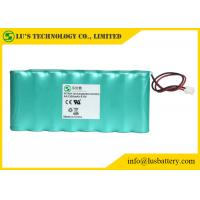 9.6V 1300mah AA NIMH Rechargeable Battery Pack OEM / ODM Acceptable Manufactures